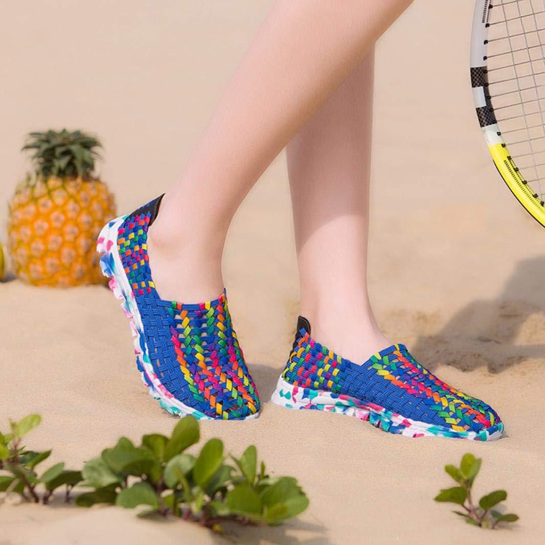 Zapatos casuales de camuflaje para mujeres que tejen zapatos de mujer zapatos deportivos transpirables perezosos BBestseller Gym Shoes: Amazon.es: Ropa y ...