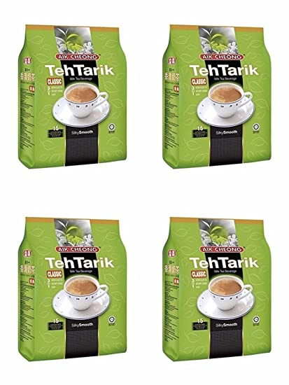 Amazon com: 10 Pack Aik Cheong Teh Tarik Milk Tea Beverage