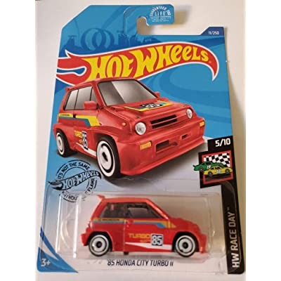 Hot Wheels 2020 Hw Race Day '85 Honda City Turbo II, Red 11/250: Toys & Games