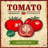 Lupia Quadro su tela Food Vintage Tomato Organic Product 40x40 cm