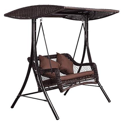 Rocking chair Silla Mecedora Doble para Columpios al Aire ...