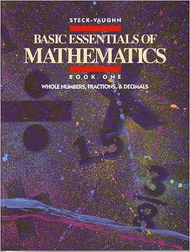 Amazon.com: Basic Essentials of Mathematics: Whole Numbers ...