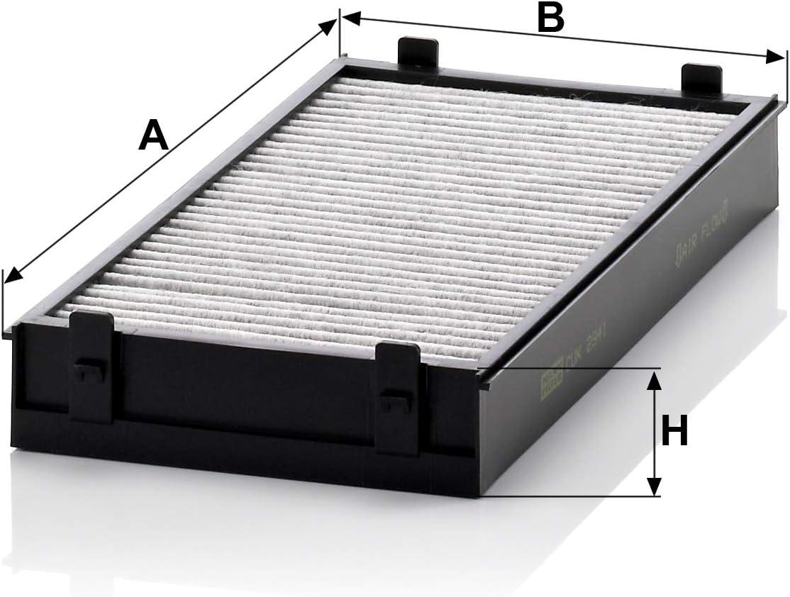 air de lhabitacle Mann Filter CUK 2622 Filtre