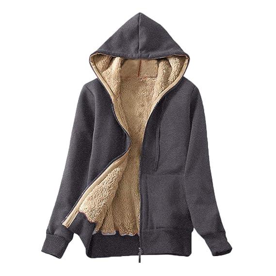 wähle authentisch klassischer Stil online Damen Casual Winter Warm Sherpa, EUZeo Teddyfell Gefüttert ...