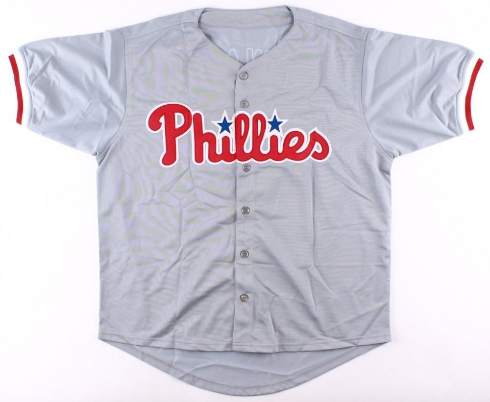 timeless design ce2e7 9a96b Ryan Howard Autographed Signed Phillies Jersey Inscribed 06 ...
