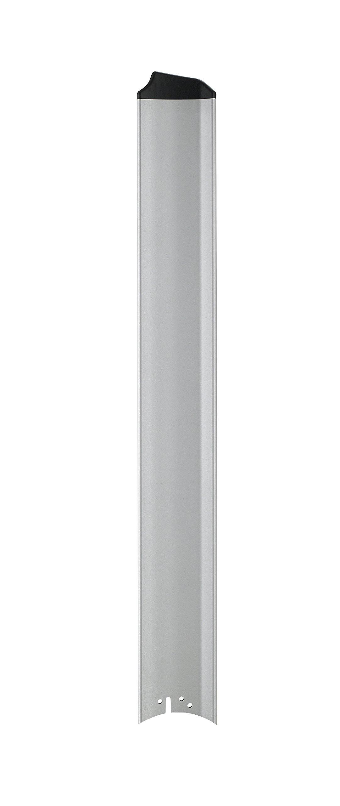 Fanimation B7997-56SLW Custom Fan Blades, Silver/Black