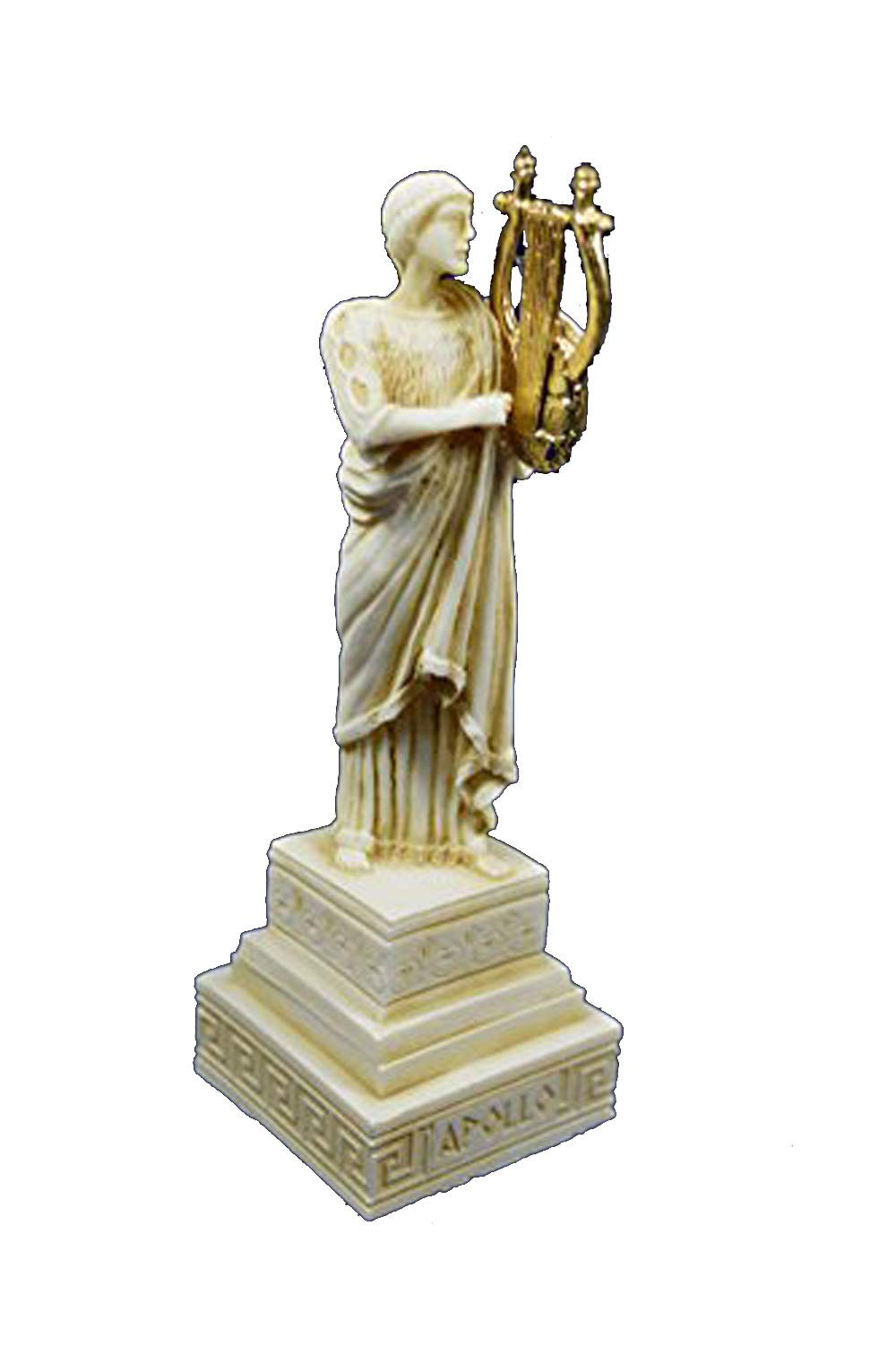 Estia Creations Apollo Sculpture God Statue Ancient Greek God Of Sun And Poetry Aged Buy Online In Dominica At Dominica Desertcart Com Productid 62959151