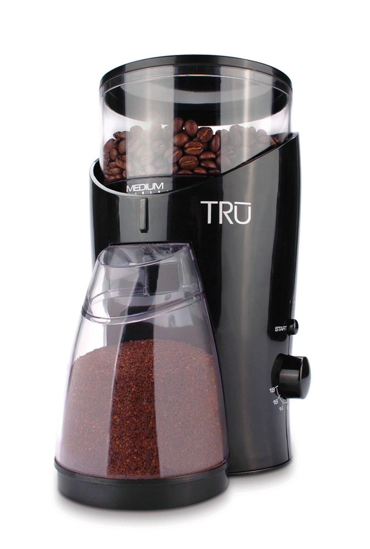 TRU Burr Grinder, Holds 1/2-Pound Coffee Beans Select Brands Inc (Kitchen) BG-82
