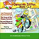 Geronimo Stilton: Books 1-3 Audiobook by Geronimo Stilton Narrated by Edward Herrmann