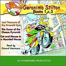 Geronimo Stilton: Books 1-3 Audiobook by Geronimo Stilton Narrated by Edward Herrmann