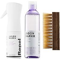 Jason Markk Unisex Premium Cleaner, Repel Spray and Shoe Brush (Combo) White
