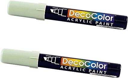 JAM papel Chisel Tip – Marcador de pintura acrílica 2/Unidades: Amazon.es: Oficina y papelería