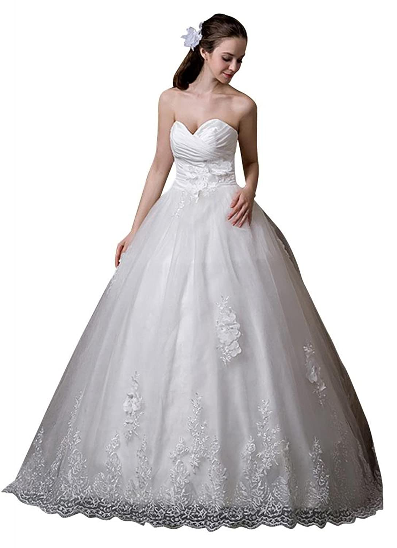 GEORGE BRIDE Vintage Elegant Sweetheart A-Line New Wedding Dress