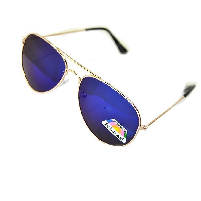 IRIS GLASS Gafas de sol POLARIZADAS tipo Ray Ban, Cristales de Espejo de Alta Calidad