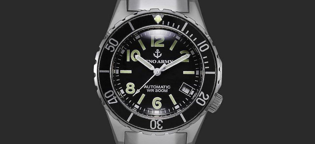 Automatic 485n Army Watch A1mUhren Herrenuhr Diver Zeno QtCxsrdh
