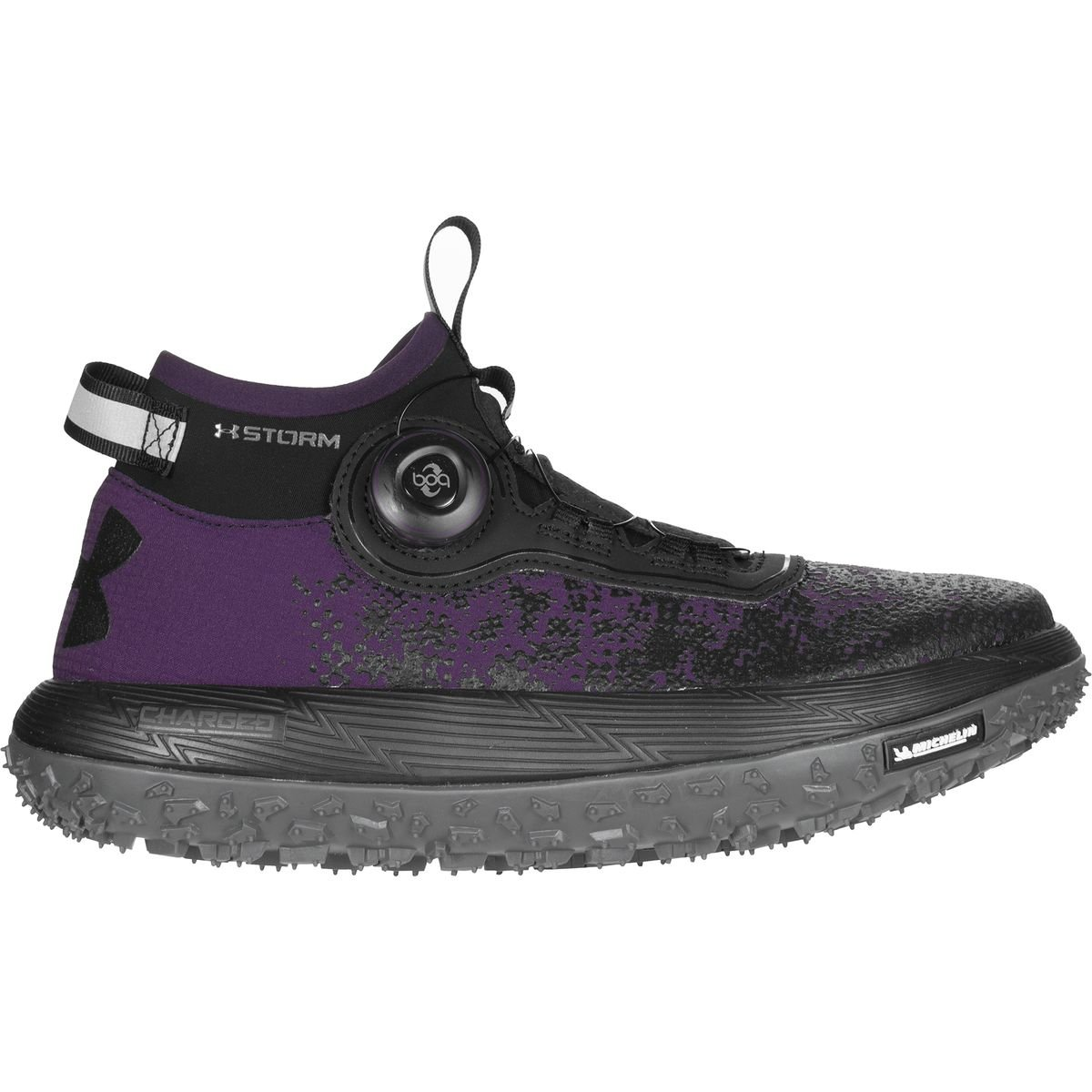 Under Armour Fat Tire 2 Women's Trail Running Shoes - SS17 B01N2SAPNO 8.5 B(M) US|Premier Purple/Rhino Gray/Black