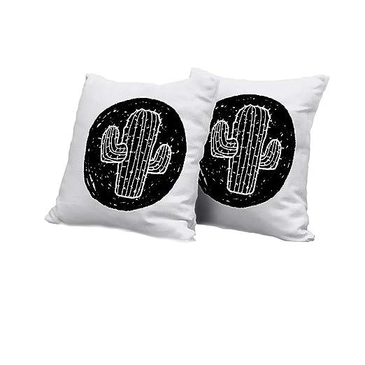 All of better Funda de cojín de futón con diseño de Cactus ...