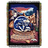 NFL Denver Broncos Acrylic Tapestry Throw Blanket