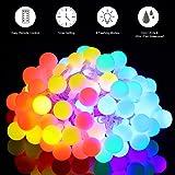 10m Catena Luminosa, Govee Impermeabile Multicolore 100 LEDs Ghirlanda, 8 Modalità di Illuminazione, Decorativa da Interni e Esterni, per Giardino, Natale, Halloween, Matrimonio