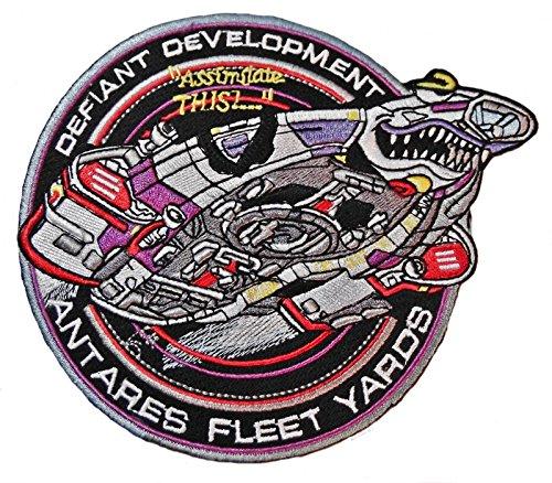 Star Trek Deep Space Nine Defiant Development Costume Patch]()