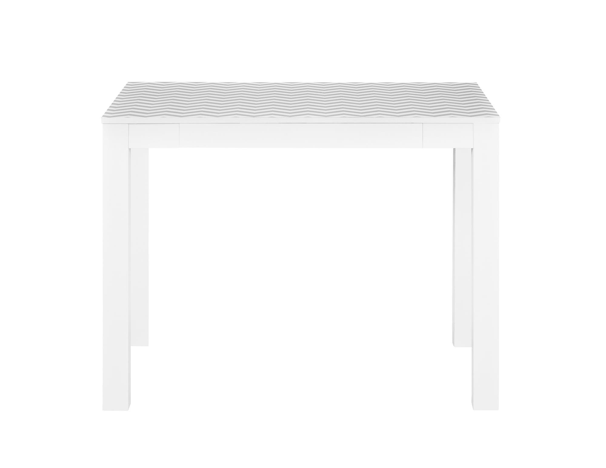 Ameriwood Home Parsons Desk Drawer, White/Gray Chevron by Ameriwood Home (Image #5)