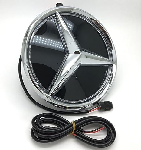Csz Car Front Grilled Star Emblem LED Illuminated Logo Center Front Illuminated Mercedes Star Wiring Diagram on