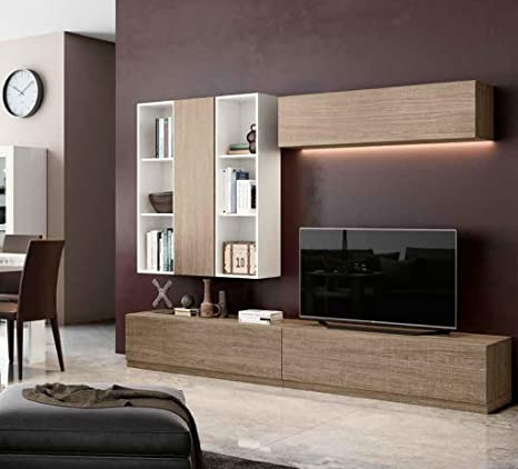 Klipick Muebles Salón Pared attrezzata Wall 009.: Amazon.es ...