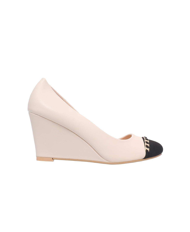 KRISP Zapatos Mujer Tacón Cuña Moda