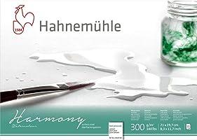 Bloco Aquarela Harmony 300 g/m² G.F A-4 21 x 29,7 cm com 12 Folhas Hahnemuhle