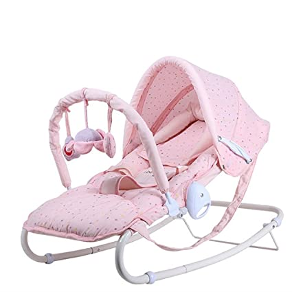JLRQY Baby Bouncer Baby Swing Chair And Cradle The Childrenu0027s Bouncing  Cradle Is Suitable For Newborns