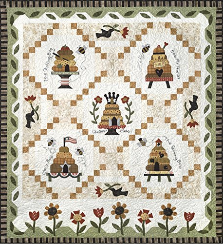 Honey Bee Lane Quilt Pattern & Accessory Pack by The Quilt Company 62