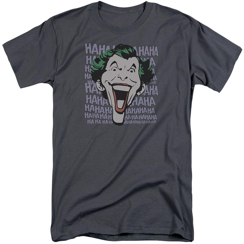 DC Comics Men's Dastardly Merriment Tall T-Shirt