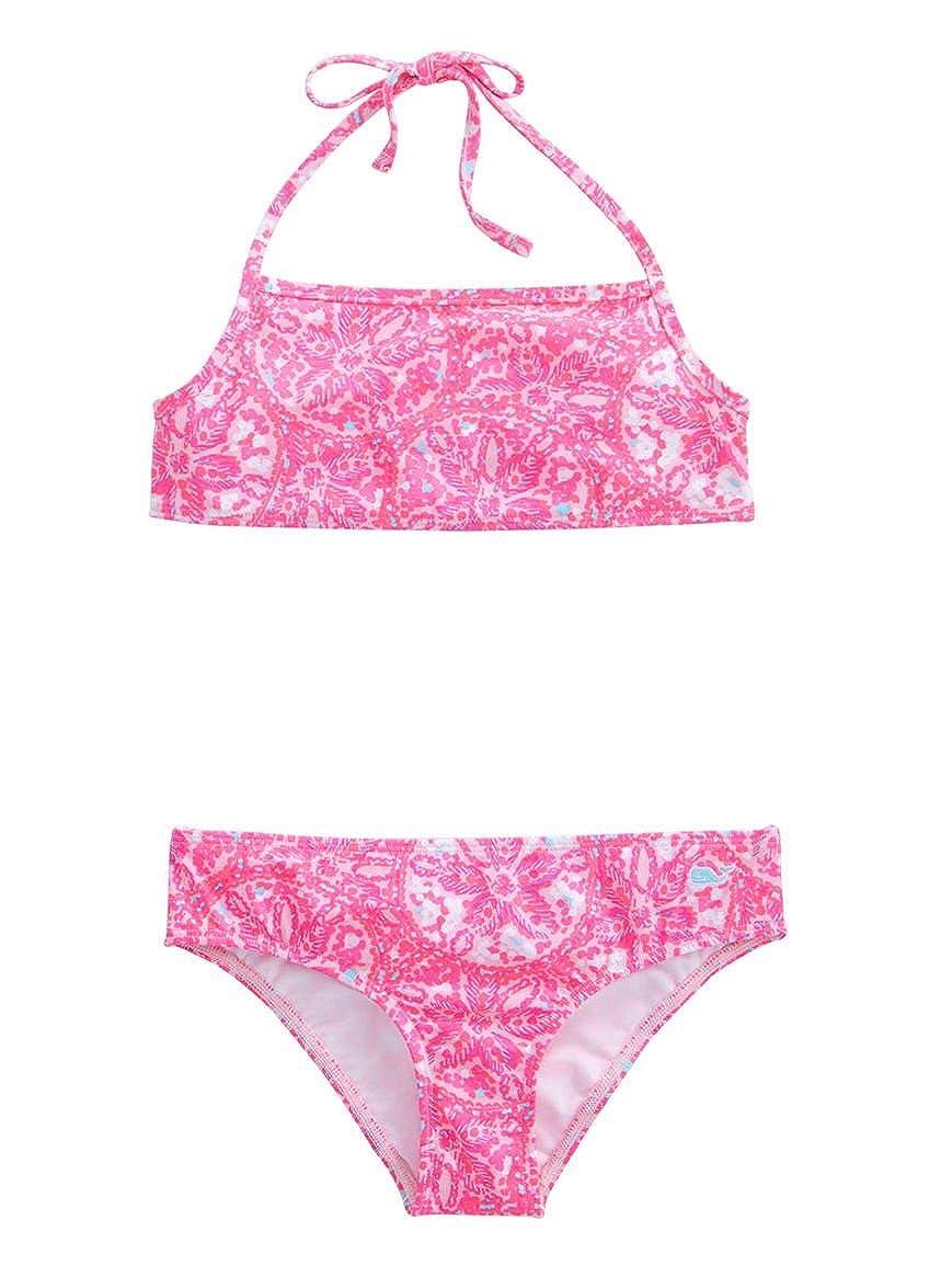 2b45129a8126c Amazon.com  Vineyard Vines Girls Sand Dollar Swim Bikini XS (5-6)  Clothing