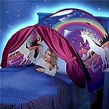 kids bed tents full size - DSSY Kids Dream Tent Pop Up Bed Tent Playhouse Magical Dream World Winter Wonderland Dinosaurs Unicorn Fantasy (Unicorn)