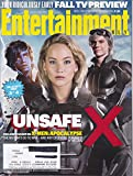 Entertainment Weekly May 27, 2016 X-Men:Apocalypse Cover #3 Kodi Smit-McPhee (Nigthcrawler), Jennifer Lawrence (Mystique), Evan Peters (Quicksilver)