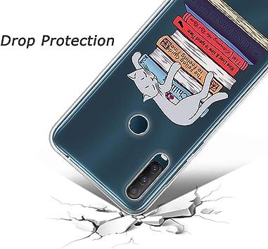 2020 6,22 2020 LYZX para Alcatel 1S XY23 Funda Carcasa Flexible Ultra Transparente Soft TPU Silicone Back Bumper Skin Case Cover para Alcatel 1S