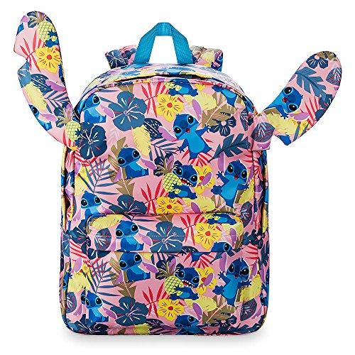 Disney Stitch Tropical Ear Backpack for (Bright Stitch)