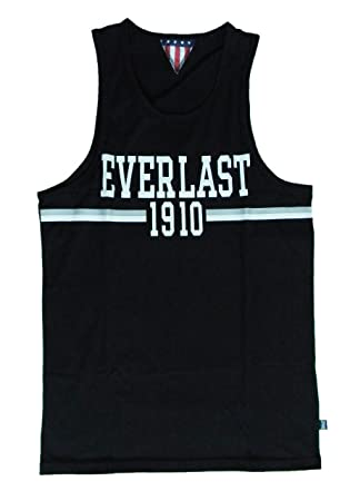 Everlast Camiseta Hombre Jersey 22 m219j73 negro (Black), negro ...