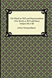 Image of The World as Will and Representation (The World as Will and Idea), Volume III of III