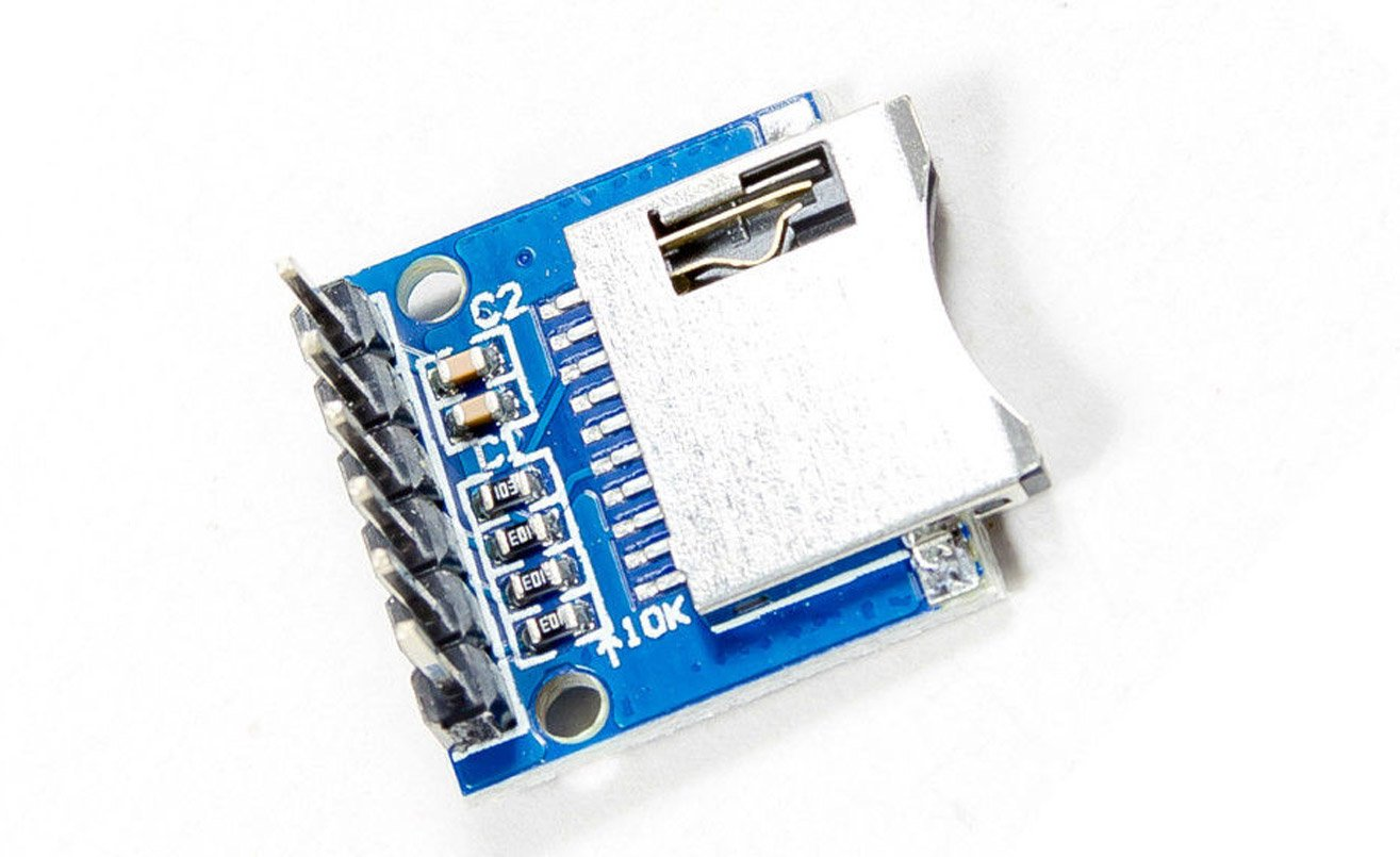 MicroSD TransFlash board for Arduino Raspberry Pi PIC DIY craft MissBirdler