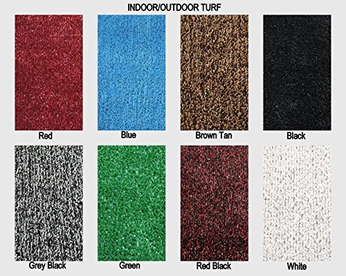Colorful Outdoor Turf Rugs - Lightweight and Flexible for Easy Transportation. Great for Gazebos, Decks, Patios, Balconies and Much More. Many Sizes and Colors to Choose From (8' x 10', (Turf Deck)