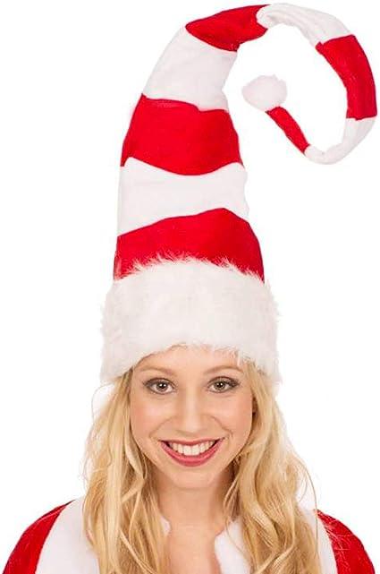LMLALML Cappelli di Natale,Cappello di Babbo Natale Adulto Unisex,Cappello di Babbo Natale Bimbo Cappelli Ispessito Caldo Morbido