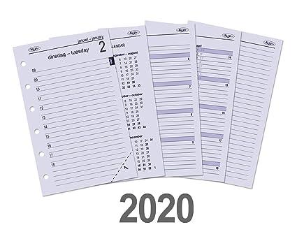 Kalpa - Papel de recambio para agenda de cuadernos (6 ...