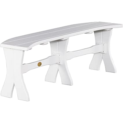 Prime Luxcraft Recycled Plastic 52In Table Bench Evergreenethics Interior Chair Design Evergreenethicsorg