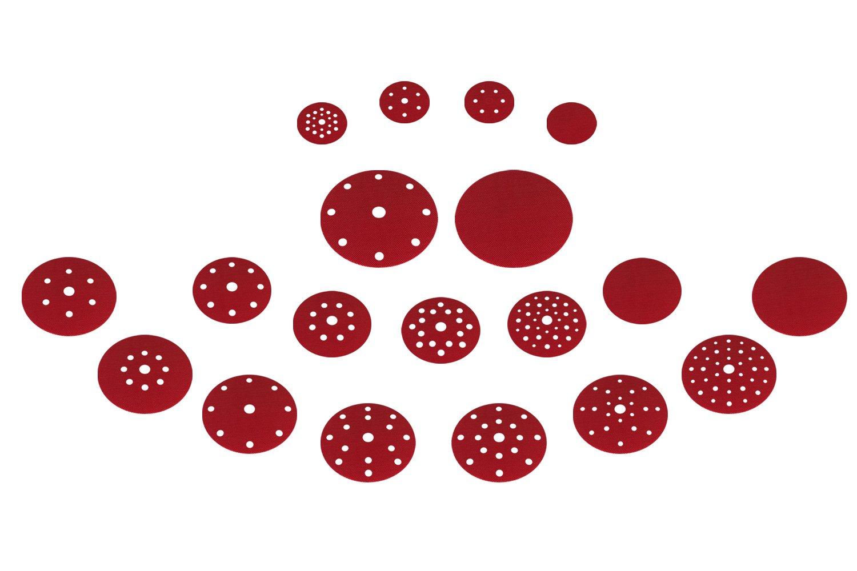 Velcro disques de rechange Assiettes pour La R/éparation De Pon/çage Polissage Assiette de maintien Assiette pour disques abrasifs /à fermeture Velcro/ /Disponible Dans Toutes Les diam/ètres/ /DFS