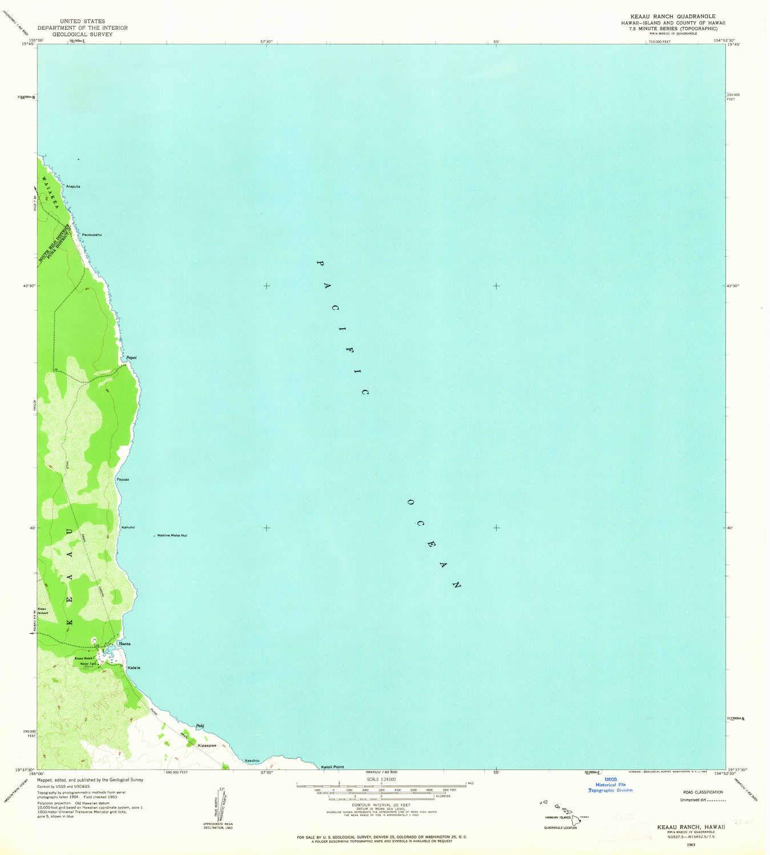 Amazon Com Yellowmaps Keaau Ranch Hi Topo Map 1 24000 Scale 7 5