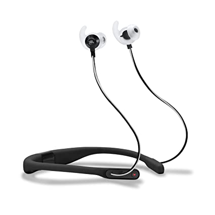 d8ab524ec98 Amazon.com: JBL Reflect Fit in-Ear Wireless Headphones with Heart-Rate  Monitor (Black) (Black): Electronics