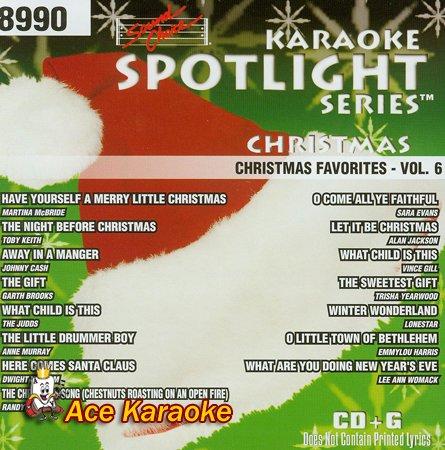 Sound Choice Spotlight CDG SCG8990 - Christmas Favorites Vol. ()