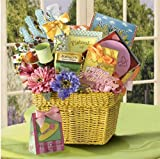 A GIFT BASKET FOR MOM: MOTHERS DAY WISHES - INCLUDES COOKIES, CAPPUCCINO DRINK, MUSICAL CD & MORE