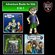 Adventure Books for Kids: Amazing Stories for the Kids (Kids' Adventure Stories) Audiobook by Jeff Child Narrated by John H Fehskens